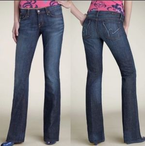 Citizens Of Humanity Margo Bootcut Low Waist Jeans